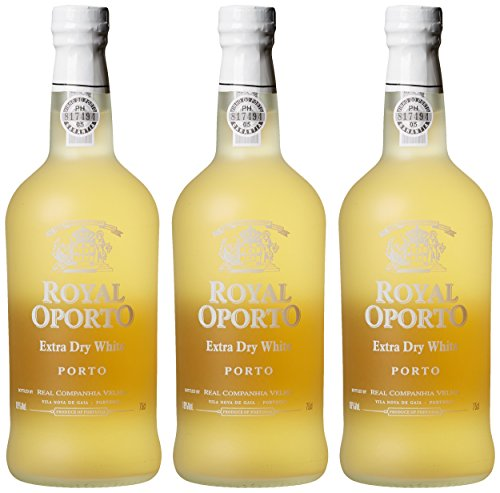 Royal Oporto Extra Dry White Port (3 x 0.75 l)