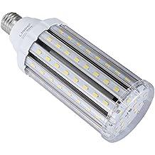 Liqoo® E27 30W Bombilla LED Lámpara Aluminio y Plástico Blanco Natural Neutral 4000K AC 85-265V Ángulo de Haz 360° 3000 Lumen Sustituye la lámpara Halógena de 150W