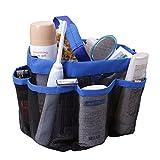 TFY Netz Duschablage 7 Taschen für Shampoo Seife Conditioner Zahnbürste