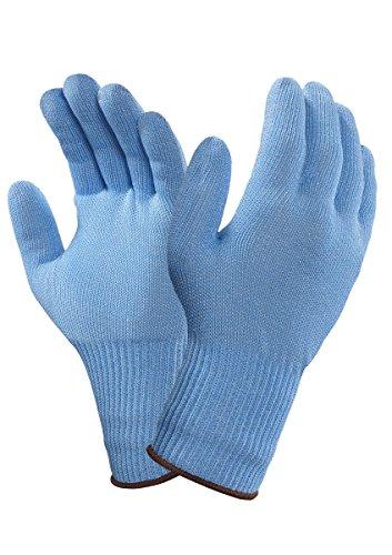 Ansell VersaTouch 72-287 Gants de protection contre les coupures, procédé agroalimentaire, Bleu, Taille 10 (Sachet de 6 pièces)