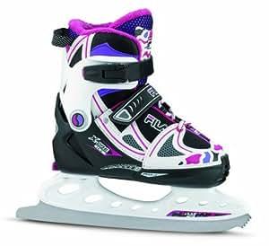 Fila X-One Ice G Patins à glace pour enfant Multicolore Noir/Lilas 35-38