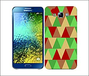 Galaxy Printed 2957 Triangles Pepper&Mint Hard Cover for Samsung GRAND Prime