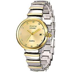 Frauen, Quarzuhren,Armbanduhr, Mode, Persönlichkeit, Freizeit, Outdoor, Metall, W0544