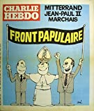 Charlie Hebdo n° 499 Couverture de Siné: Front populaire. (Bande dessinée, Périodique, Dessin d'humour) 4 juin 1980....