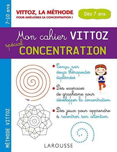 Mon cahier Vittoz, spécial concentration (Cahiers maternelle) por Margot Dugenet