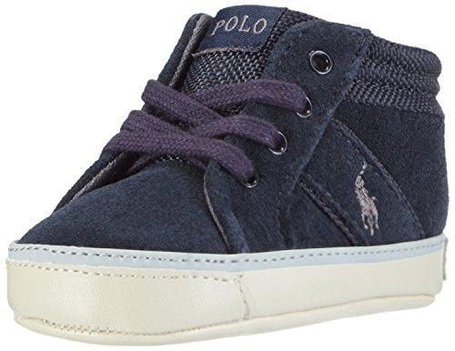 Polo Ralph Lauren Bawtry II layette, Chaussures souple pour bébé (garçon) - Bleu