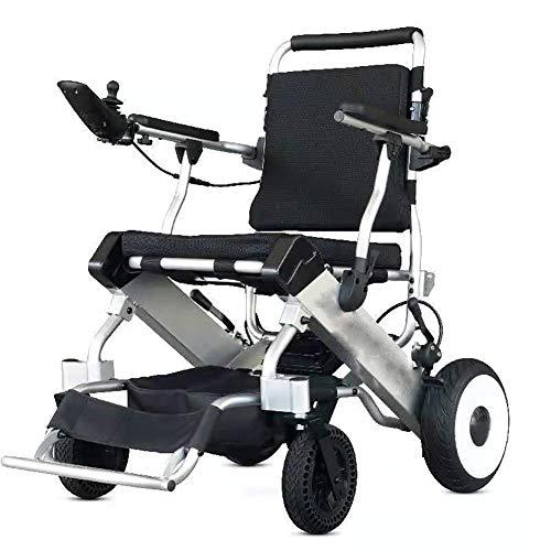 Unbekannt Elektrischer Walker, älterer behinderter Roller, bürstenloser Motor, Alles klappbar und leicht, kann im Flugzeug mitgeführt Werden, geeignet für alle Arten von Innenräumen -