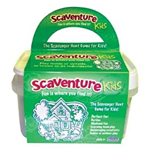 Complete Poof Slinky Scaventure Kids- Design May Vary With 150 Different Cards And Four Tasks Jouets, Jeux, Enfant, Peu, Nourrisson