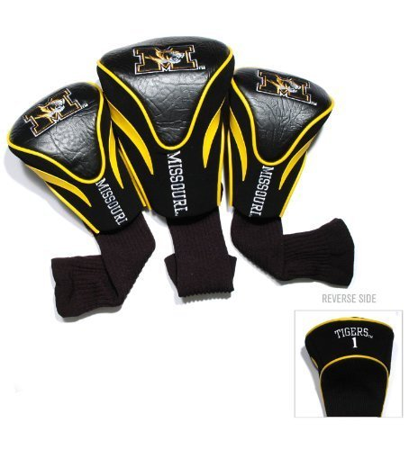 university-of-missouri-tigers-3-pack-contour-headcover-by-team-golf