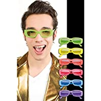 Boland–ac2514–Gafas Fluorescentes Eddie 6colores surtidos UV400