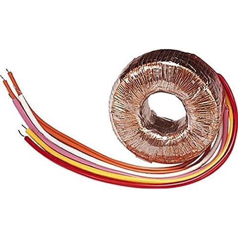 Alta qualità trasformatore toroidale 160VA con 0–12, 0–12Vac