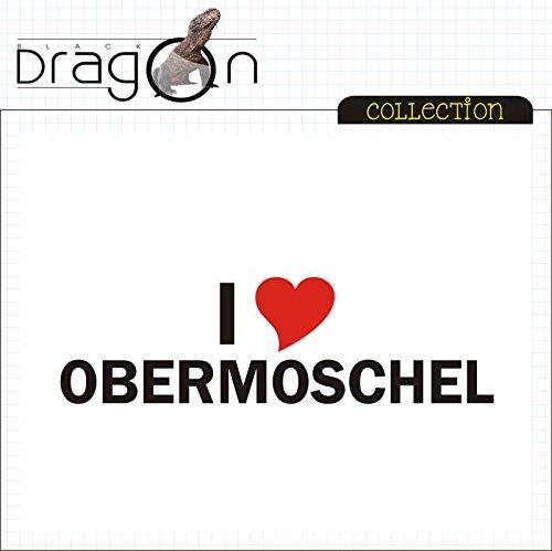 T-Shirt - i Love Obermoschel - Herren - unisex Weiß