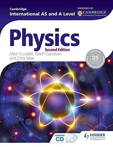 for the love of physics Cambridge International AS and A Level Physics 2nd ed