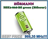 Handsender HÖRMANN HSE2 BS 868 grün , 868,35 Mhz