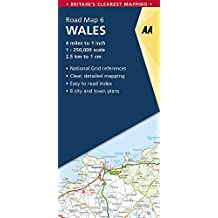Aa Wales Road Map