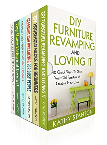 DIY Cleaning Box Set (6 in 1): Learn Simple Strategies To Clean Your Home Fast In 7 Days (Declutter Hacks, Organizing Strategies, Maximize Your Space) (English Edition) por Kathy Stanton
