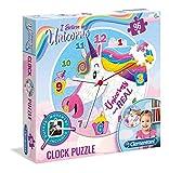 Clementoni 23035 Puzzle Contour Puzzle 96 Pieza(s) - Rompecabezas (Contour Puzzle, Animales, Niños, Unicornio, Chica, 6 año(s))