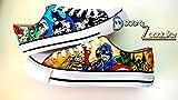 Marvel zapatillas customizadas personalizadas - superheroes Marvel DC Vengadores - regalos de cumpleaños - regalos para el - regalos para ella - aniversario - San Valentin