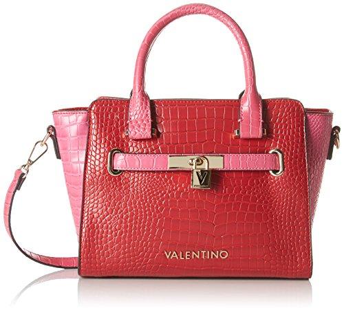 Mario Valentino Damen Clover Henkeltasche, 6x20x25 cm Mehrfarbig (ROSSO/FUXIA)
