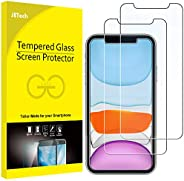 JETech Screen Protector for iPhone 11 and iPhone XR 6.1-Inch, Tempered Glass Film, 2-Pack