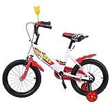 Ridgeyard 16 Zoll Kinder Fahrrad Kinder Fahrrad Lernen Reiten Fahrrad Jungen M?dchen Fahrrad mit Stabilisatoren für 3-5 Jahre (rot)