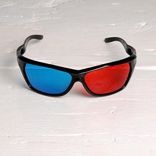 Freak Scene® Partybrille ° Fun Brille ° Modell: Retro 3D Brille 2
