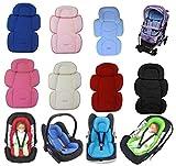 Sitzverkleinerer für Babyschale Kindersitz Türkisblau