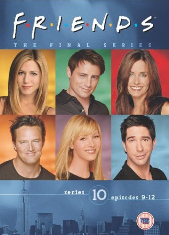 Click for larger image of Friends - Series 10 - Vol. 3 (Episodes 9-12) [VHS] [1995]