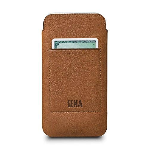 Sena Schutzhülle für iPhone X, Hellbraun Sena Iphone Flip Case