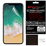 Best unknown iPhone 5 Screen Protectors - TECHGEAR [Pack of 5] ANTI GLARE Screen Protectors Review