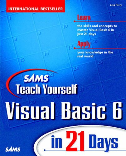Download teach yourself visual basic 6 in 21 days sams teach download teach yourself visual basic 6 in 21 days sams teach yourself pdf fandeluxe Images