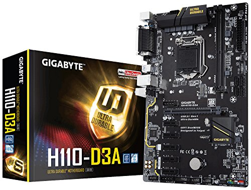 Gigabyte H110-D3A Bitcoin Edition Socket 1151 - Placa