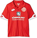 Lotto Sport Kinder FSV Mainz 05 Trikot Home 2016/2017-S6520, rot, S-128/140