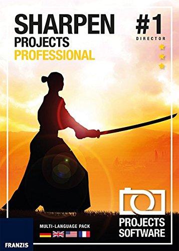 FRANZIS SHARPEN projects professional|1|Für bis zu 3 Geräte|-|Für Windows PC und Mac OS X|Disc|Disc -