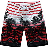 QinMM Shorts de Bain Hommes Boxer Trunks Designer Bermuda 698cbc18539