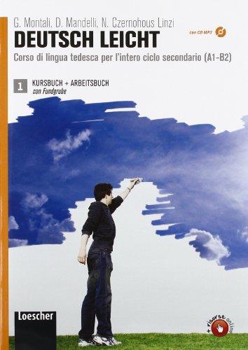 Deutsch leicht. Corso di lingua tedesca A1-B2. Kursbuch-Arbeitsbuch-Fundgrube. Per le Scuole superiori. Con CD Audio formato MP3. Con DVD-ROM. Con ... le Scuole superiori. Con CD Audio formato MP3