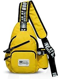 FANDARE Mode Sling Bag Monospalla Borse a Spalla Zaino Spalla Borsa a  Tracolla Crossbody Bag Borsello d0e46315f21