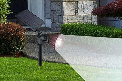 Mulang super luminoso energia solare faretto led da giardino