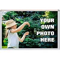 Personalised Custom Photo Gift Jumbo Fridge Magnet 96 x 67 mm Gift Souvenir Present