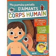 Ma première pochette d'aimants Corps humain