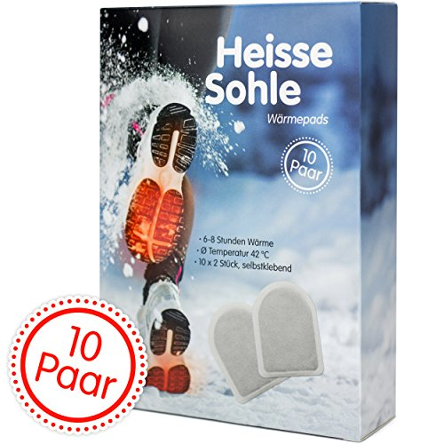 Image of Heisse Sohle Fußwärmer – 10 Paar Vorteilspack