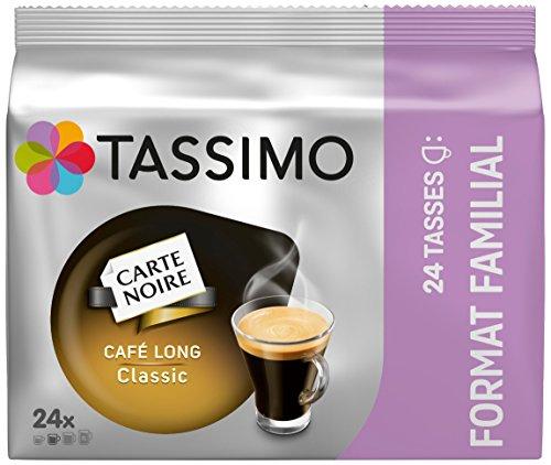 Tassimo Dosette Café - Carte Noire Café Long Classic 120 boissons (Lot de 5x24 T DISCs)