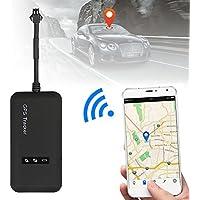 SODIAL Localizador en tiempo real del perseguidor del coche GPS Mini GT02 Dispositivo de seguimiento del GPS del GPS Vehiculo / camion / furgoneta