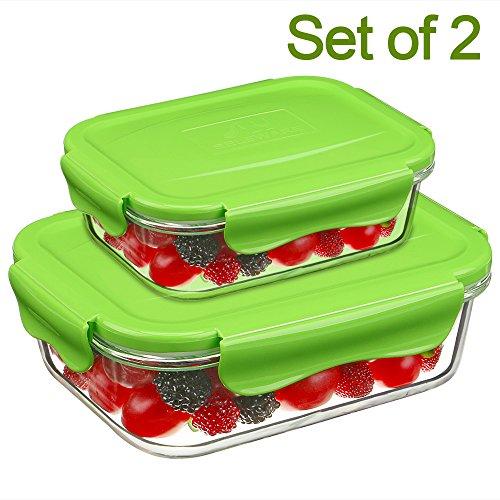 SELEWARE [Set de 2] Contenedor Alimentos