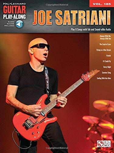 Joe Satriani: Guitar Play-Along Vol. 185 by Joe Satriani (2015-12-21)