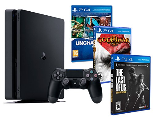 Playstation 4 Consola PS4 Slim 500gb + 5...
