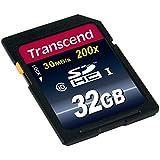 Transcend Extreme-Speed SDHC Class 10 Speicherkarte (bis 30MB/s Lesen)