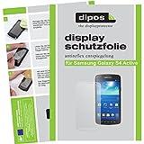dipos Samsung Galaxy S4 Active Schutzfolie (2 Stück) - Antireflex Premium Folie matt