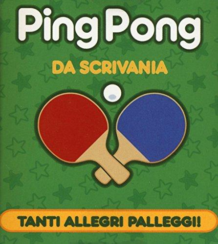 Ping pong da scrivania. Con gadget por Chris Stone