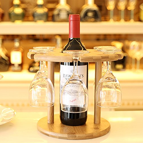 casier ¨¤ vin en bois cr¨¦atifs verres europ¨¦ens de vin vin de porte-gobelet gobelet en verre suspendus d¨¦tenteurs bambou tasse